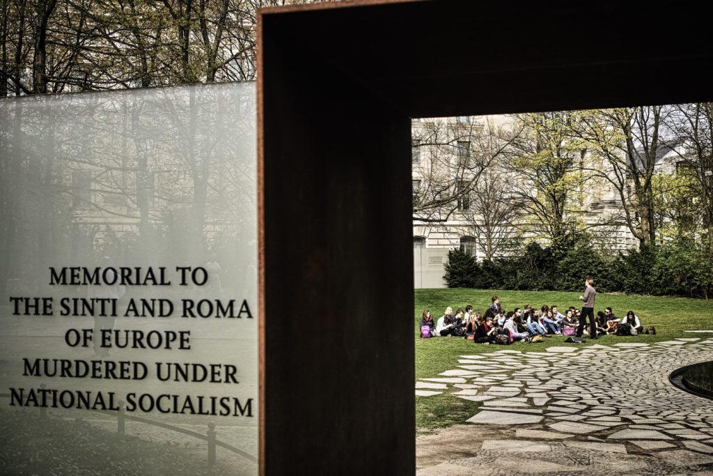 Denkmal für die ermordeten Sinti und Roma Europas © Stiftung Denkmal, Foto: Marko Priske