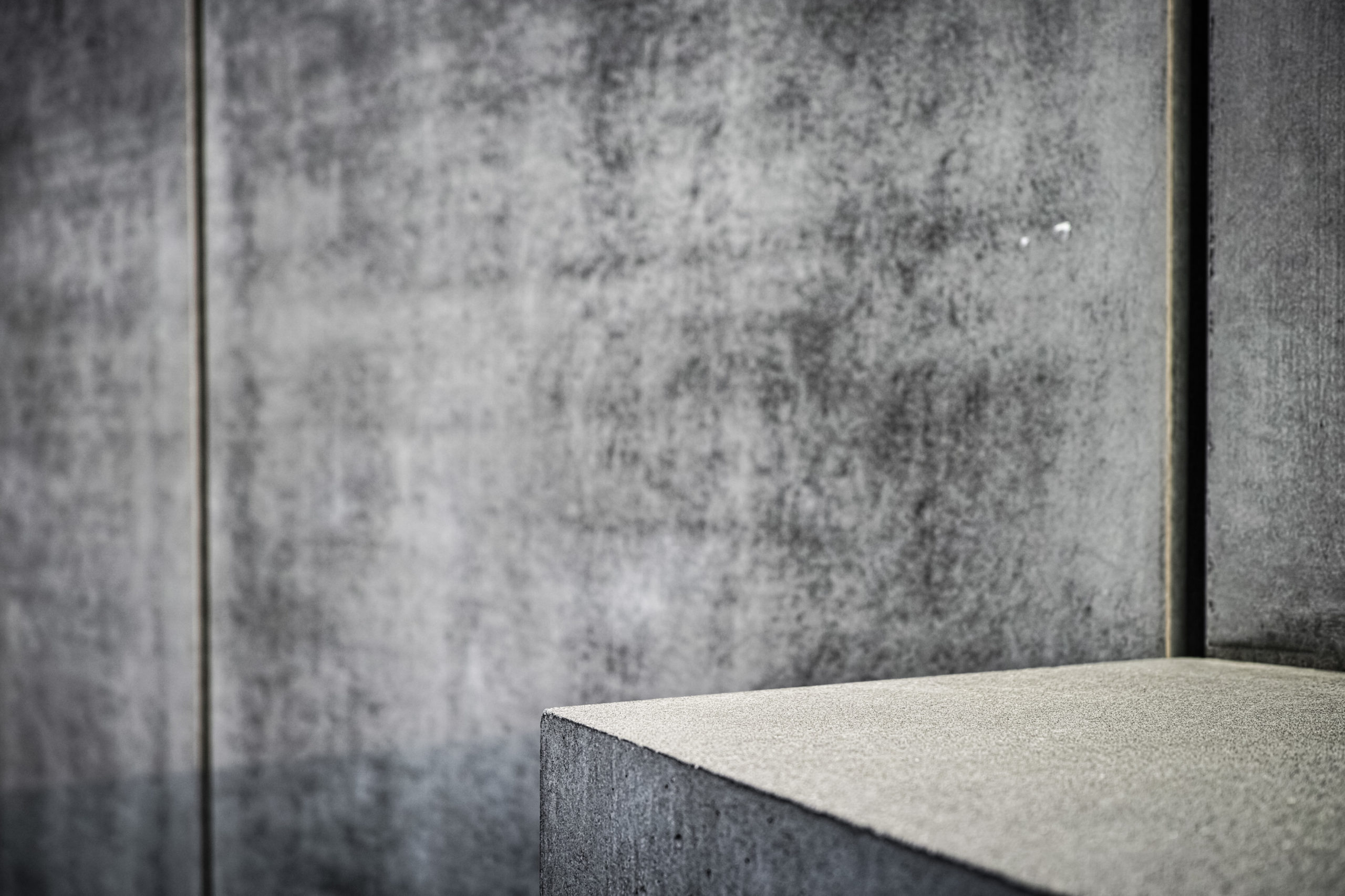 Detail of a stele of the Memorial to the Murdered Jews of Europe © Foundation Memorial