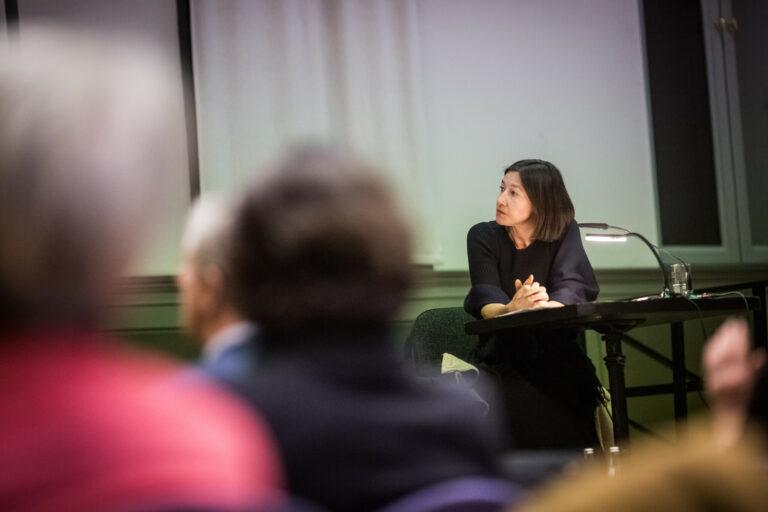 16.01.2020 Lesung aus Maria Blitz von Johanna Wokalek, Foto: Marko Priske