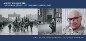 20200331 Zeitzeugengespraech mit Kurt Hillmann und Bettina Rust 1