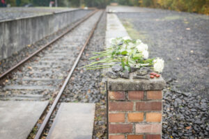 Gedenkveranstaltung Gleis 17, 18. Oktober 2020, Foto Marko Priske