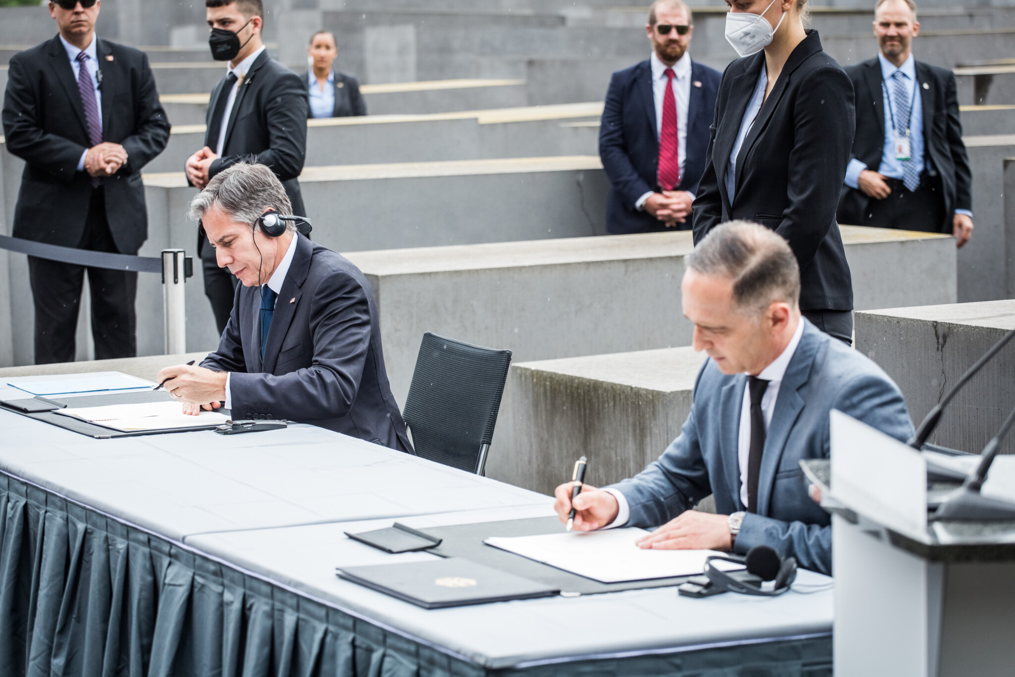 Agreement on closer future cooperation in the field of Holocaust remembrance between the USA and Germany