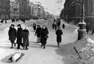 Straßenszene © Wikipedia / gemeinfrei