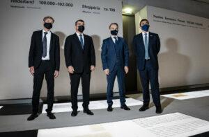 Aussenminister Maas besucht Denkmal fuer die ermordeten Juden Europas