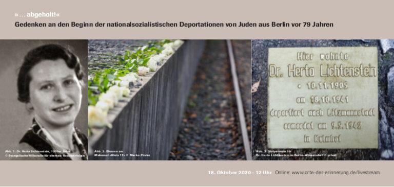 Einladung Gedenkfeier Gleis 17 2020 Seite 1