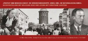 Einladungskarte 19032020 Buchvorstellung Protest und Menschlichkeit 1
