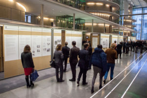 Opening of the travelling exhibition in the German Bundestag, Berlin