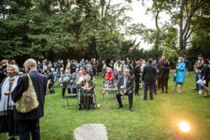 Gedenken am Sinti und Roma Denkmal am 2. August 2021 © Stiftung Denkmal, Foto Marko Priske (19)