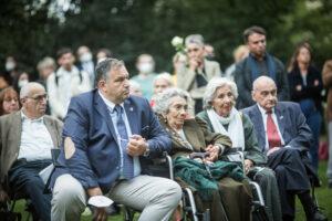 Gedenken am Sinti und Roma Denkmal am 2. August 2021 © Stiftung Denkmal, Foto Marko Priske (74)