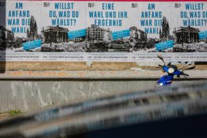 Kampagne 75 Jahre Kriegsende Kulturprojekte Berlin, Foto Christian Kielmann