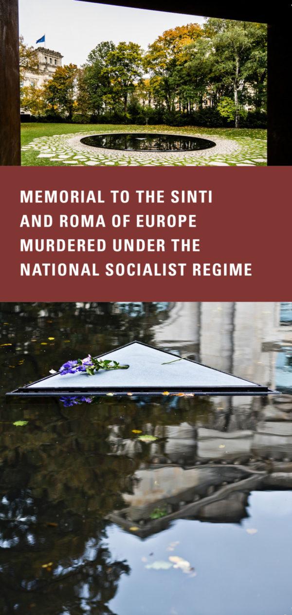 StiftDenk Sinti and Roma Memorial Flyer 2019