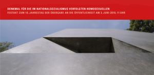Denkmal für die im Nationalsozialismus verfolgten Homosexuellen