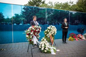 Gedenken am 4. September am Gedenk- und Informationsort T4, Foto Marko Priske