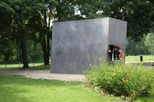 Homosexuellen-Denkmal, Foto: Sabine Hauke