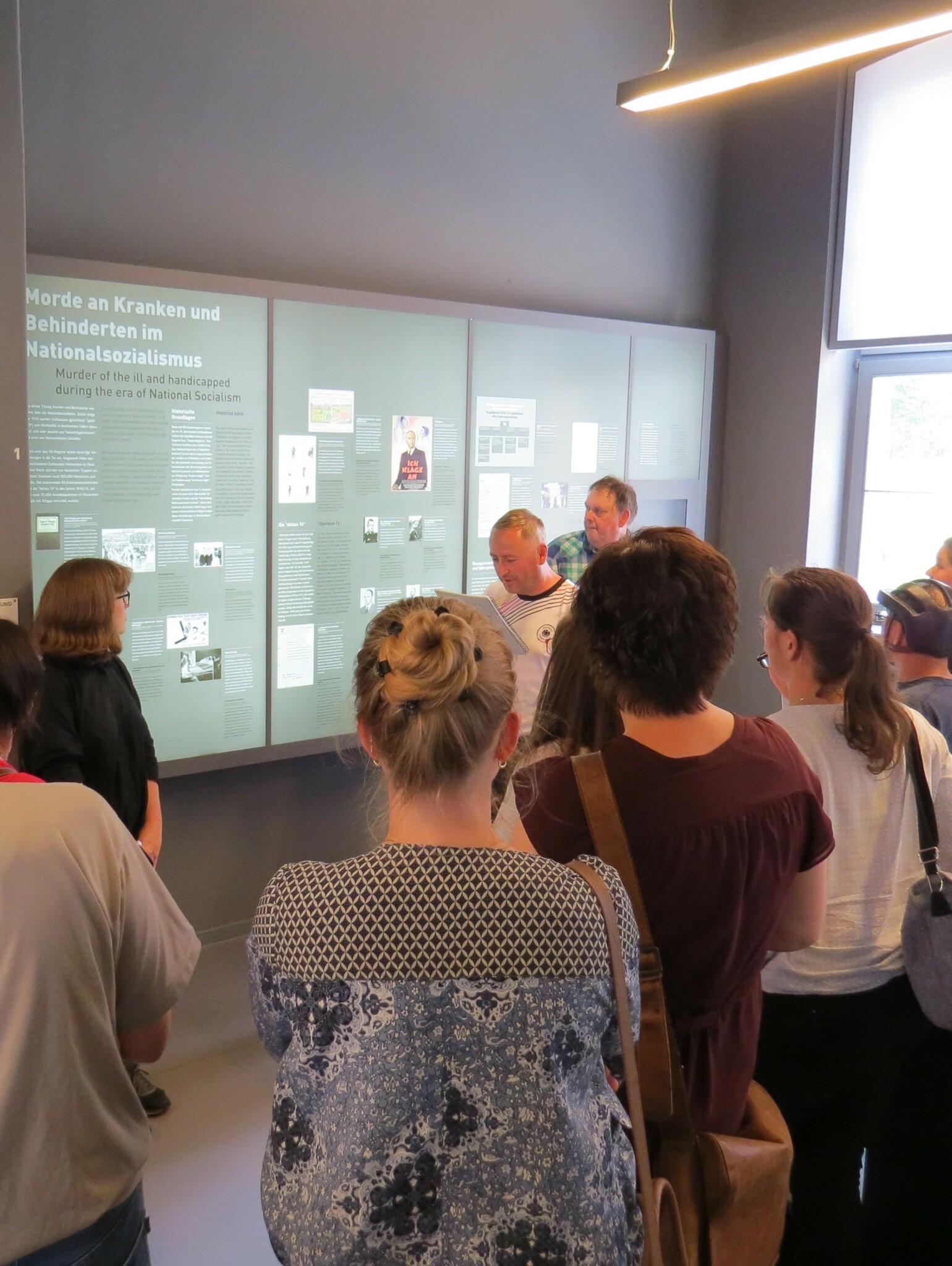 Digitale Führung durch die Gedenkstätte Brandenburg und Gespräch