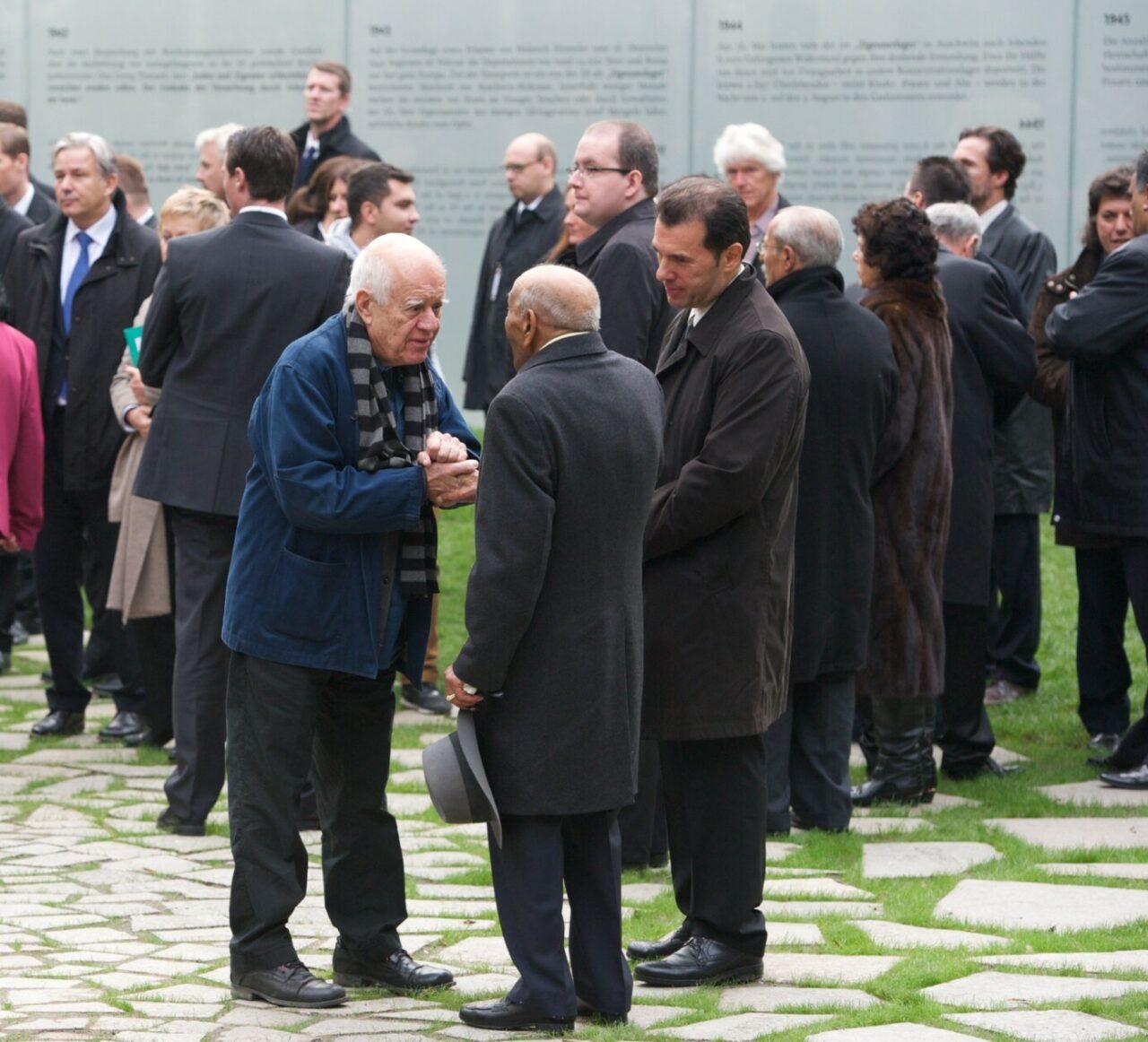 Einweihung Mahnmal Sinti und Roma