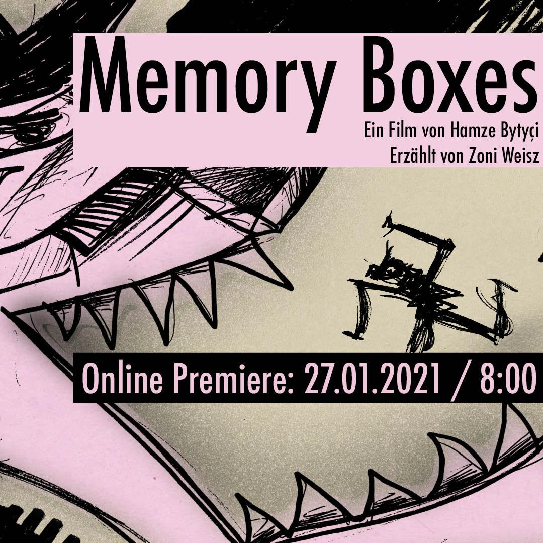 """MEMORY BOXES"" ONLINE PREMIERE"