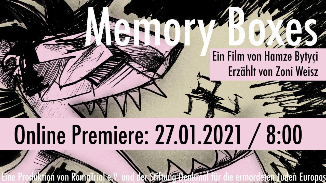 memory boxes online premiere